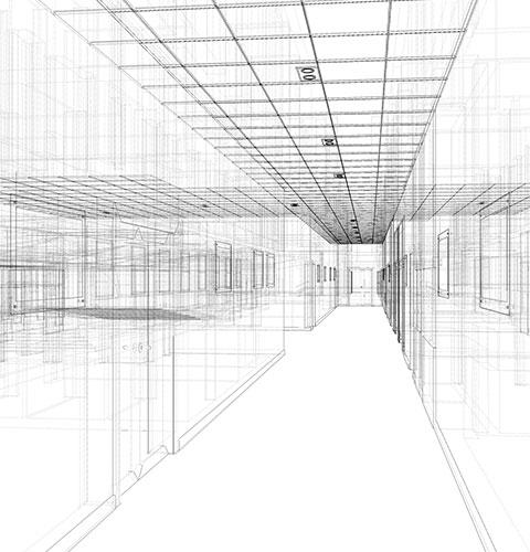 Lam Architecture 3D Rendering
